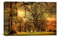 The Countryside, Canvas Print