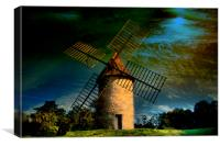 The Mill., Canvas Print