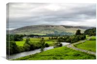 The Dales, Canvas Print