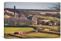 Old Mill Yorkshire , Canvas Print