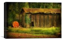 The Old Barn, Canvas Print