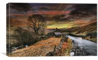 The Dales uk, Canvas Print