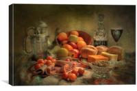 Still Life Lunch !!, Canvas Print