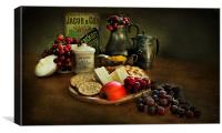 Mid Morning Snack., Canvas Print