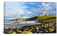 Dunstanburgh Headland, Canvas Print