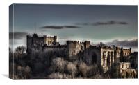 Durham Castle at Dusk, Canvas Print