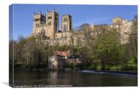 Cathedral and fulling mill, Canvas Print