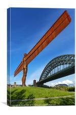 Angel of the North Montage, Canvas Print