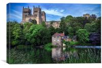 Durham Cathedral and Fulling Mill, Canvas Print