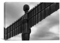 angel of the north., Canvas Print