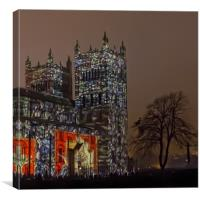 Durham Lumiere, Canvas Print