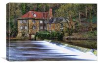 The Fulling Mill, Canvas Print