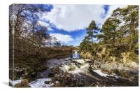 Low Force, Canvas Print