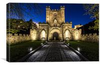 Durham Castle, Canvas Print