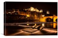 Durham Cathedral and Castle, Canvas Print