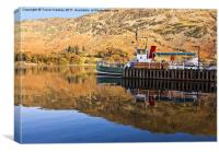 Ullswater Steamer, Canvas Print