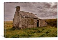 Ruin in the Dales, Canvas Print