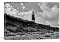 Old Lighthouse - Spurn Point, Canvas Print