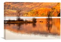 Autumn Reflections - Ullswater, Canvas Print