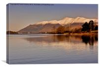 Derwentwater - Lake District., Canvas Print
