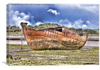 Fleetwood Wrecks, Canvas Print