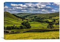 Swaledale Yorkshire Dales, Canvas Print