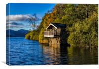 Duke of Portlands Boathouse, Canvas Print