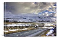 Winter in the Dales, Canvas Print