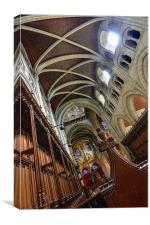 Abbey Church Of St Mary, Buckfast, Canvas Print