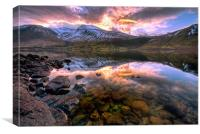 Wastwater Reflections, Canvas Print