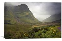Glen Coe, Canvas Print