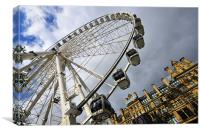 The Wheel Of Manchester, Canvas Print