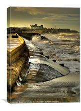 Fylde Coast Views, Canvas Print