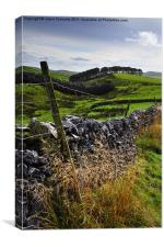 Along The Road to Pen-Y-Ghent, Canvas Print