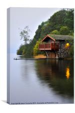 Duke Of Portland Boathouse, Canvas Print