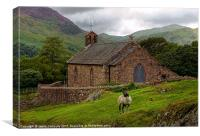 St James, Buttermere, Canvas Print