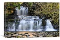 Cotter Force, Wensleydale, Canvas Print