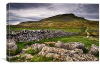 PenY-Ghent, Yorkshire Dales, Canvas Print
