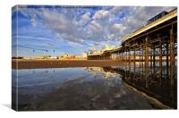 Blackpool Reflects, Canvas Print