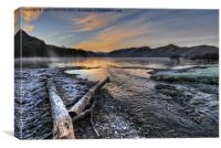 Derwentwater Dawn, Canvas Print
