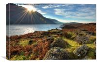 Wastwater, Canvas Print