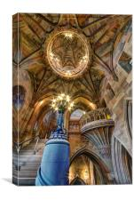 The Rylands Library, Manchester, Canvas Print