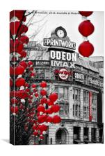 The Printworks, manchester, Canvas Print