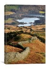 Views To Elterwater, Canvas Print