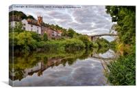 Ironbridge Reflections, Canvas Print