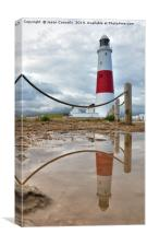 Portland Bill Reflections, Canvas Print