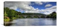 Thomas Telford's Finest Highland Bridge, Canvas Print