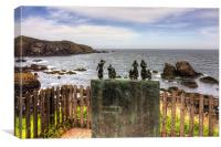 The Memorial at St Abbs, Canvas Print