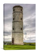 The Chalk Tower, Canvas Print