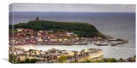 Scarborough from Oliver's Mount, Canvas Print